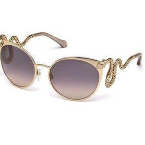 Roberto Cavalli authentic snake shades